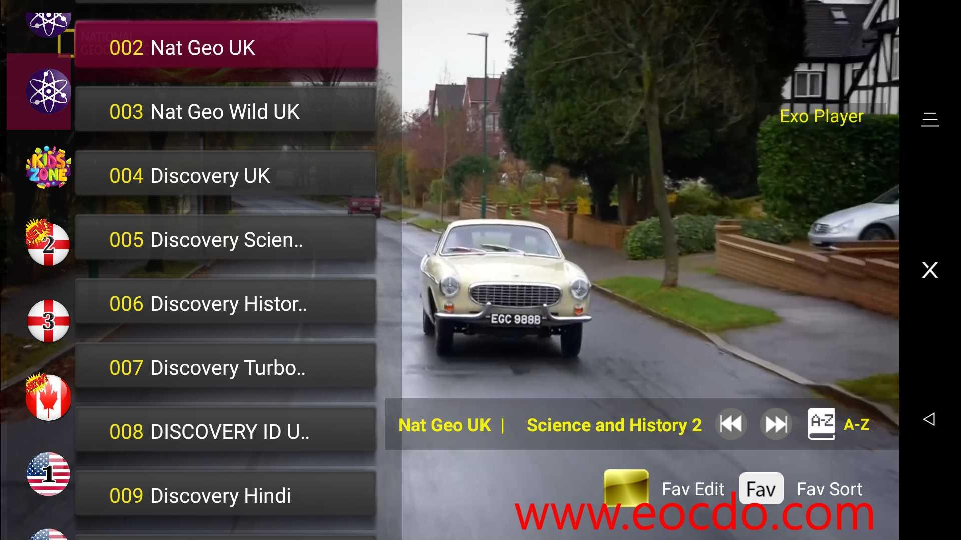 (V)SAT:Global TV Live App 世界各国电视直播软件