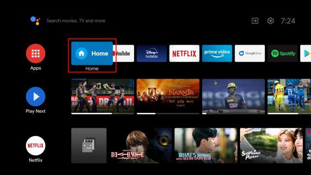 在Android TV上安装Google TV